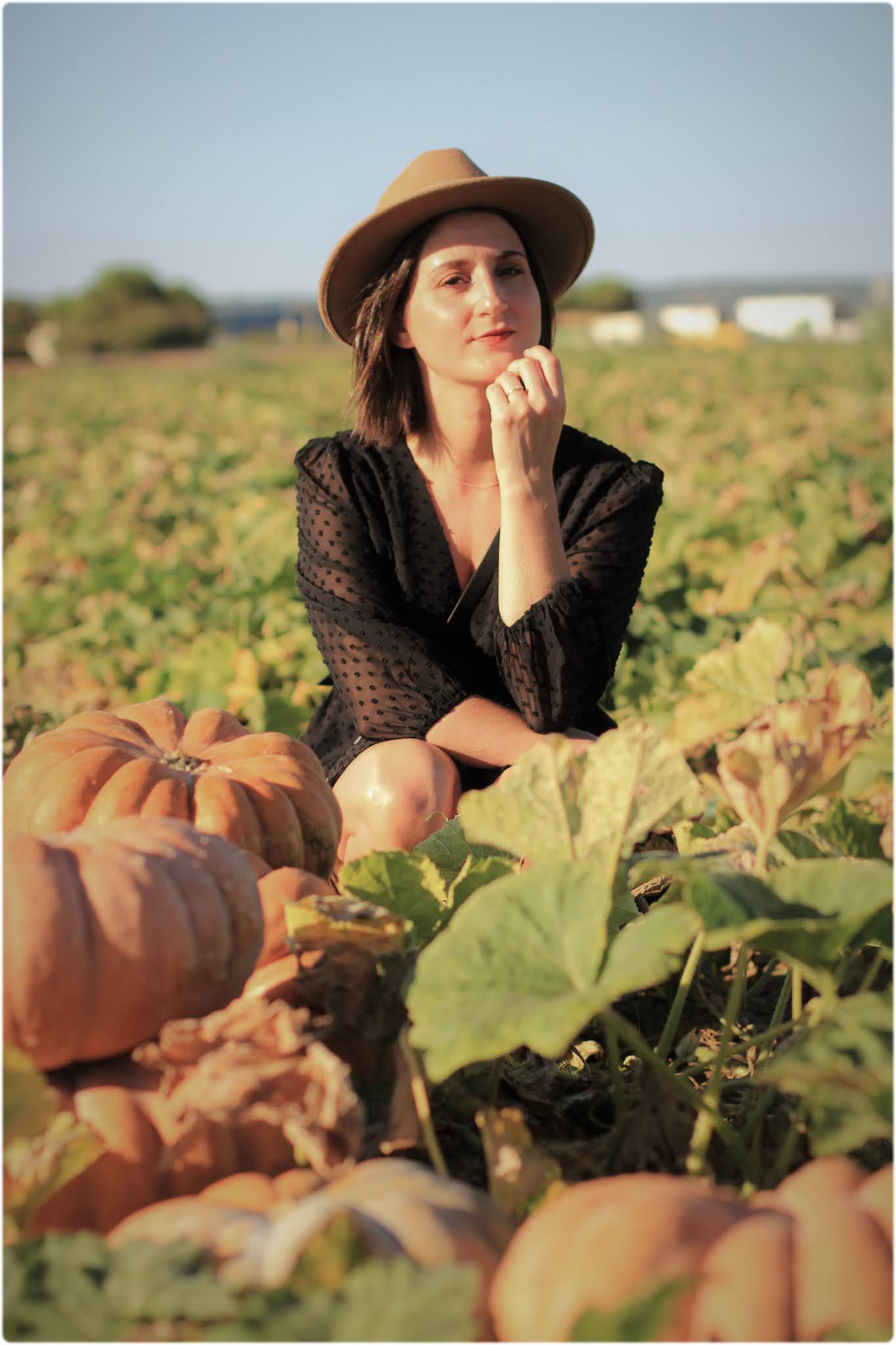 Look citrouille automne