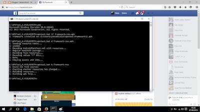 Screenshot decompile recompile di windows 10 - catatandroid.blogspot.com