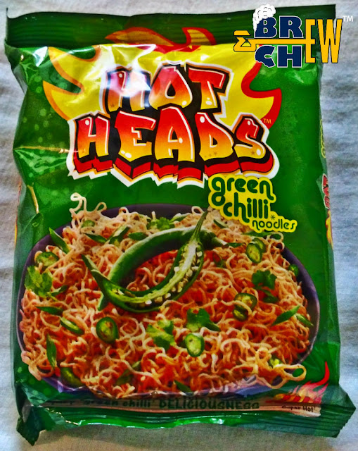 Maggi Hot Heads review | Green Chilli Noodles