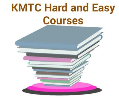 Hard & Easy KMTC courses