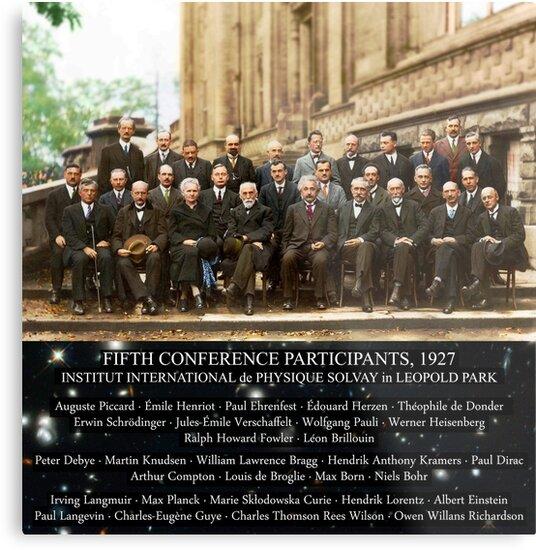 Solvay Conference, Smartest People, Einstein, Scientists