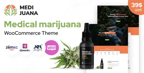 Best Medical Cannabis WordPress Theme