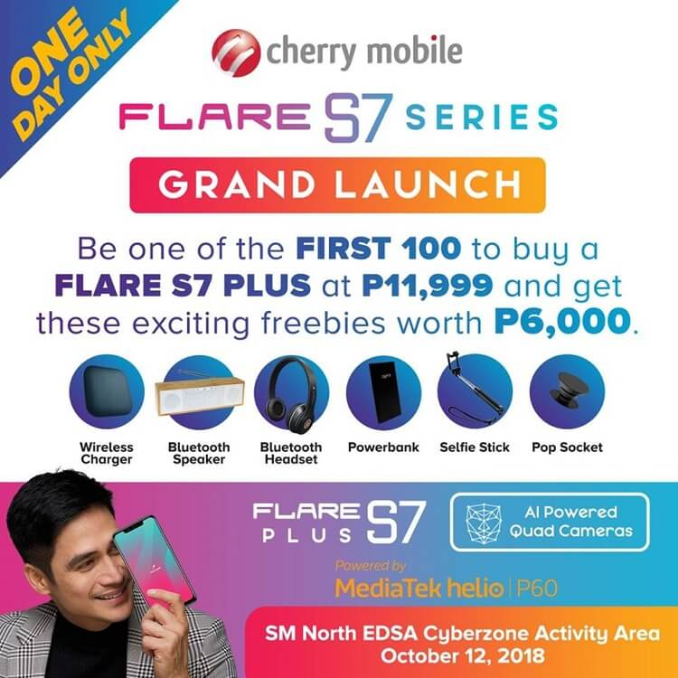 Cherry Mobile Flare S7 Plus Launch Promo Announced