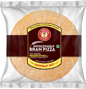 La Americana Gourmet product range wholewheat bran pizza