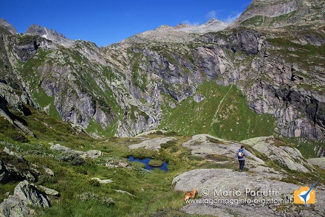 Panorama dal sentiero glaciologico