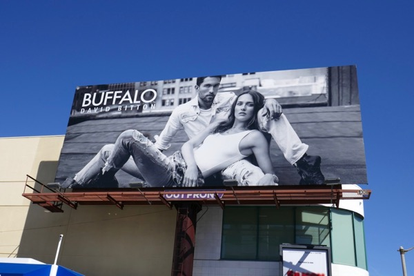 Buffalo David Bitton Jeans SS18 billboard