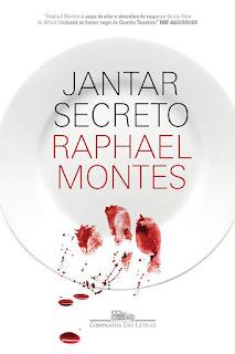 Livro Jantar Secreto - Raphael Montes