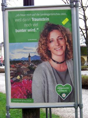 Janetta Weiland zur Landesgartenschau Traunstein