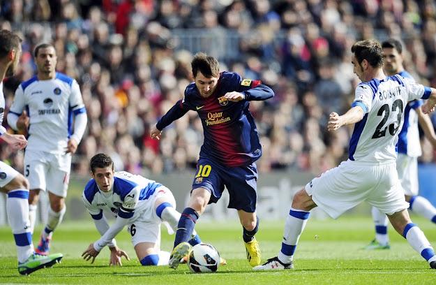 Messi dribble