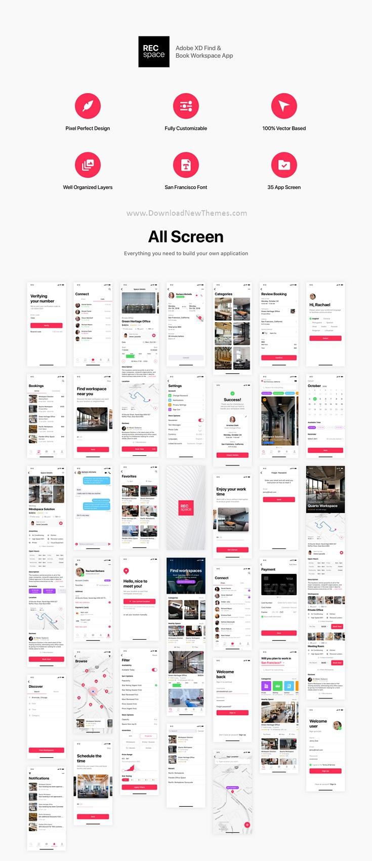 Find & Book Workspace App Template