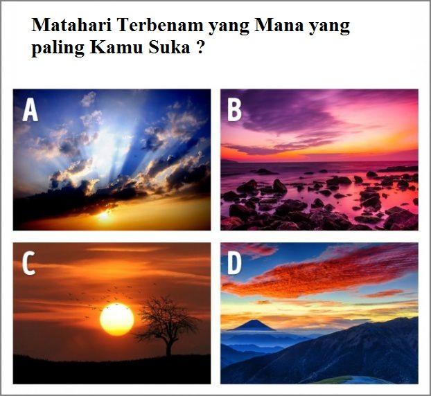 Matahari terbenam mana yang Anda paling suka?