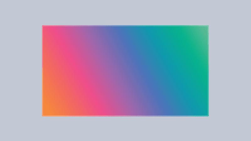 CSS ile Gökkuşağı Kenarlık Efekti Oluşturma