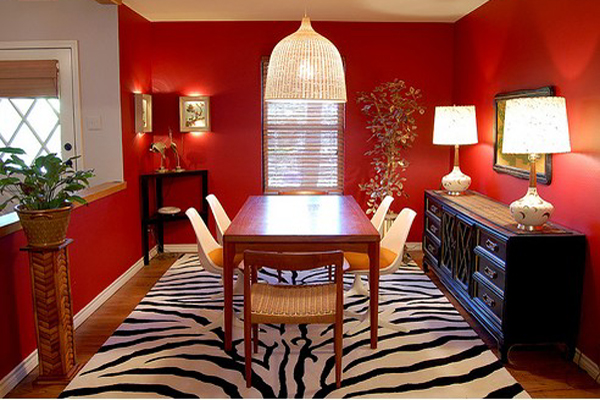 By The Way, Red Is One Of The Most Popular Colors For Restaurants And Dining  Rooms For That Very Reason.