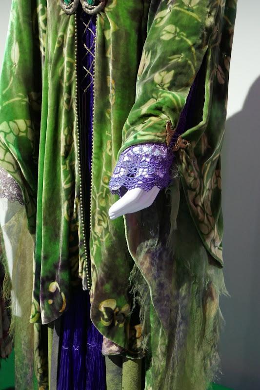 Hocus Pocus Winifred Sanderson costume sleeve detail