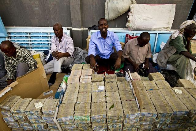 Shiling Somaliland không có giá trị quốc tế