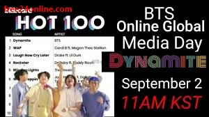 Livestream Bts Online Media Day Hot 100 Celebration Free24online
