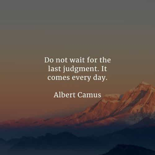 Famous quotes and sayings by Albert Camus