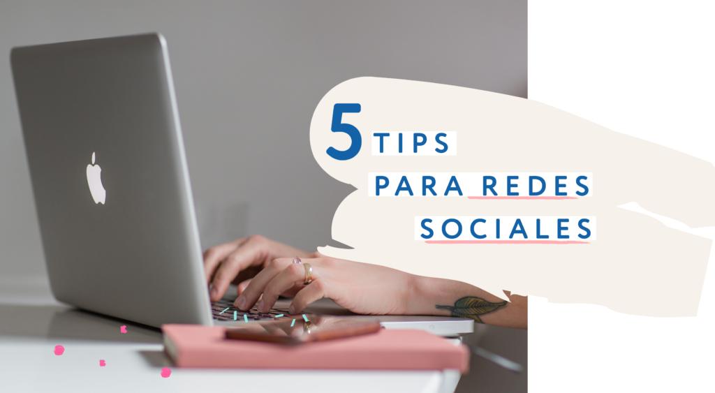 Tips de redes sociales para pequeñas empresas por Andrea Zambrano