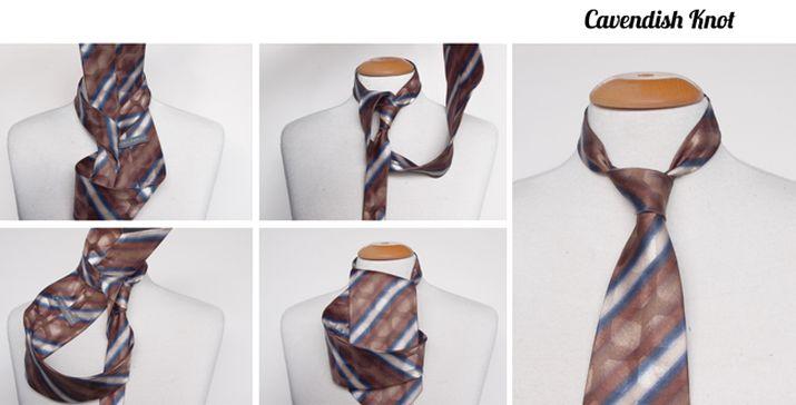Cavendish tie knot instructions