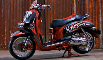 Modifikasi Scoopy Jari-jari