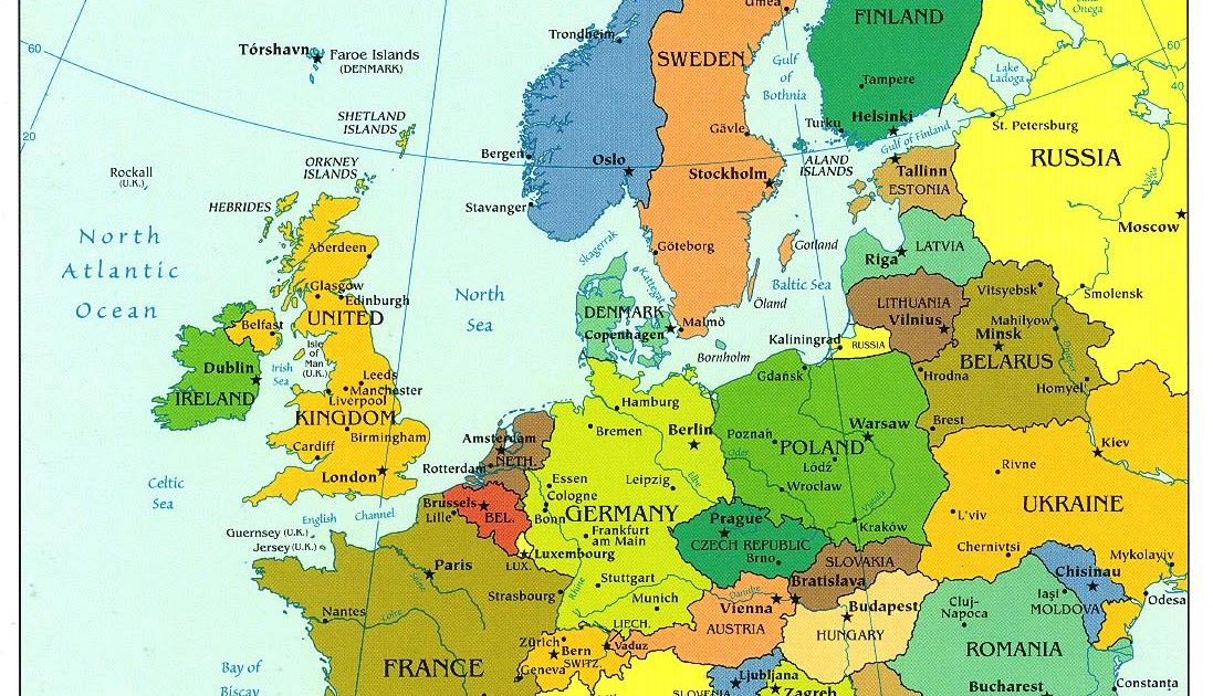 politisk kart europa Europa Kart Politisk Bilder politisk kart europa