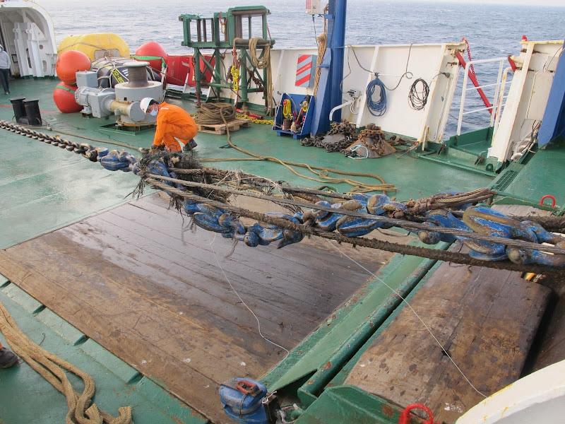 cable sous marin preparation maintenance