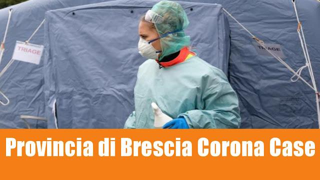 Provincia di Brescia Corona Case List 04/03