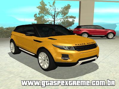 Range Rover Evoque 2012 [ImVehFt] para GTA San Andreas