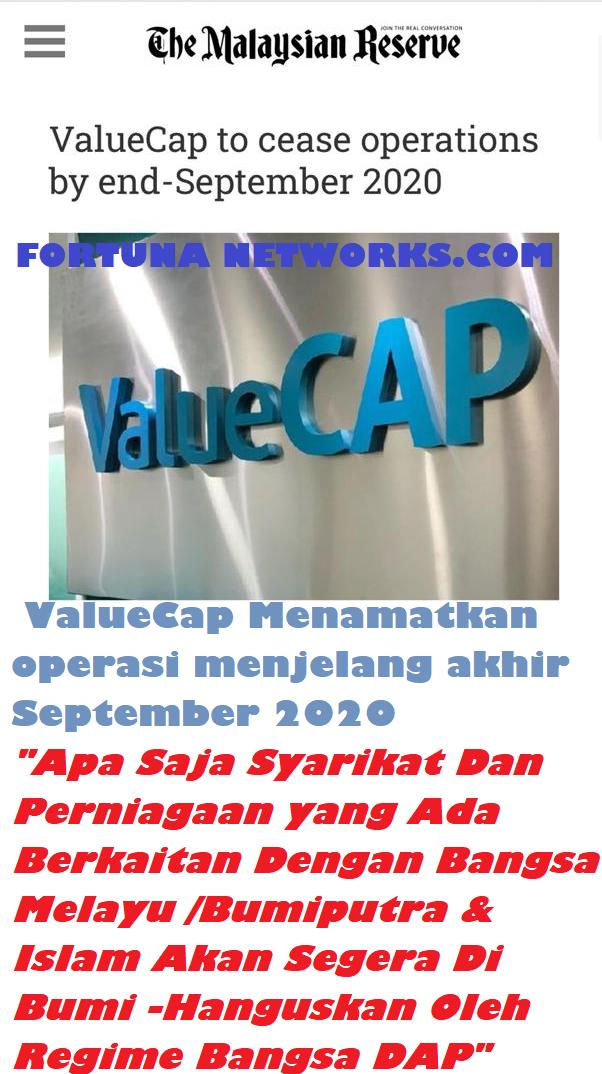 #PascaGE14 [Part 6] ValueCap Menamatkan Operasi Menjelang Akhir September 2020