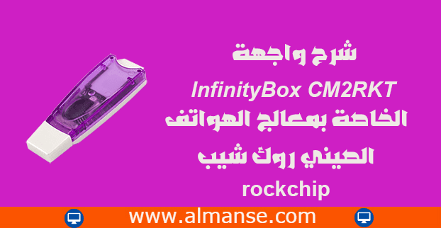Explain the InfinityBox CM2RKT interface of the Chinese mobile phone processor Rockchip
