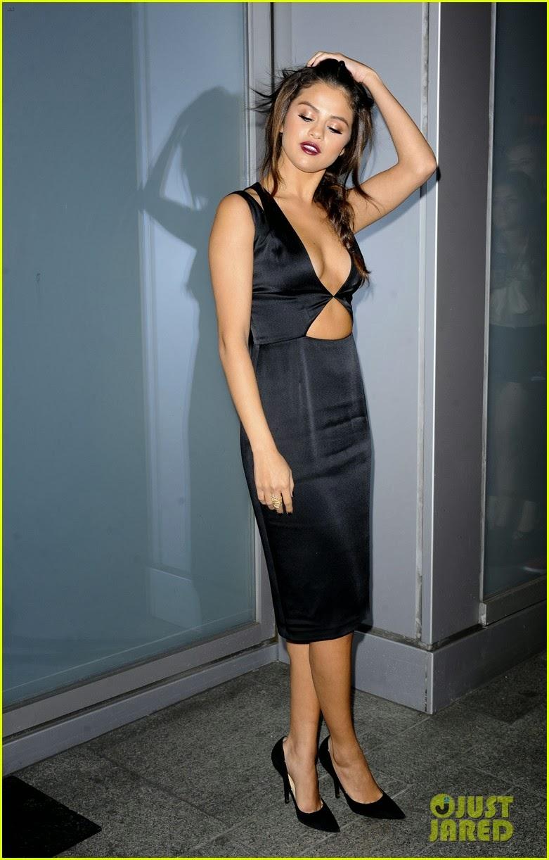And Selena gomez flaunt congratulate, seems