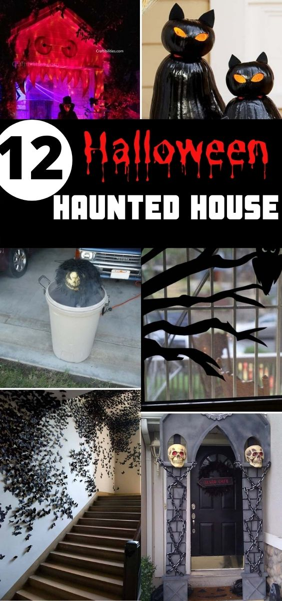 12 Best Halloween Haunted House Ideas for Halloween