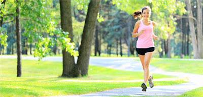Jogging track dengan nuansa hutan kota
