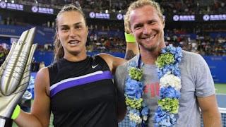 Aryna Sabalenka With Ex Coach And Rumored Boyfriend Dmitry Tursunov