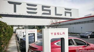 trụ sở Tesla