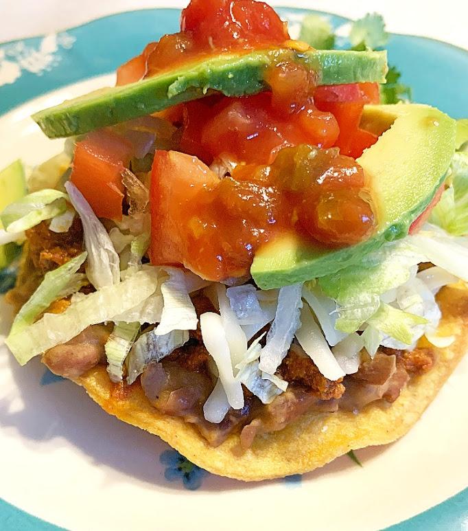 Mexican Ground Beef Tostadas