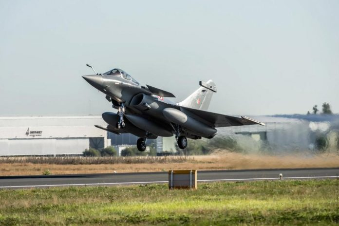Dassault Rafale in ladakh