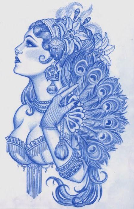Awesome Gypsy Tattoos