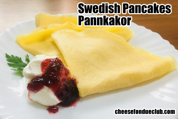スウェーデン風パンケーキ、パンカーコル