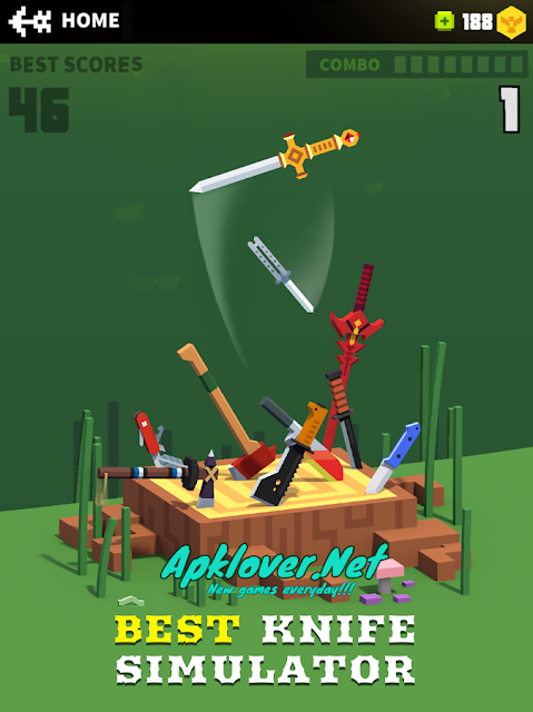 Flippy Knife MOD APK unlimited money & premium