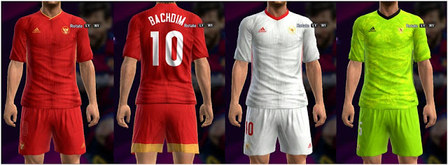 PES 2013 Indonesia NT Fantasy Kits