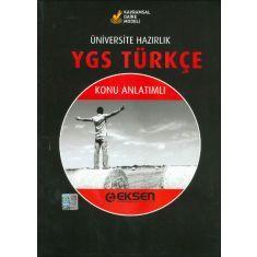 Eksen YGS Türkçe Konu Anlatımlı (2015)