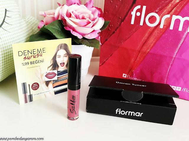 flormar silk matte cherry blossom