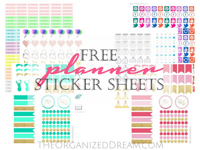 Free Planner Sticker Sheets - Meetup Monday