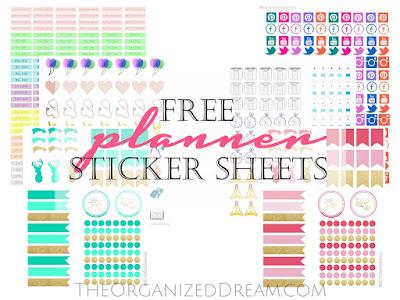 Free Planner Sticker Sheets - Meetup Monday