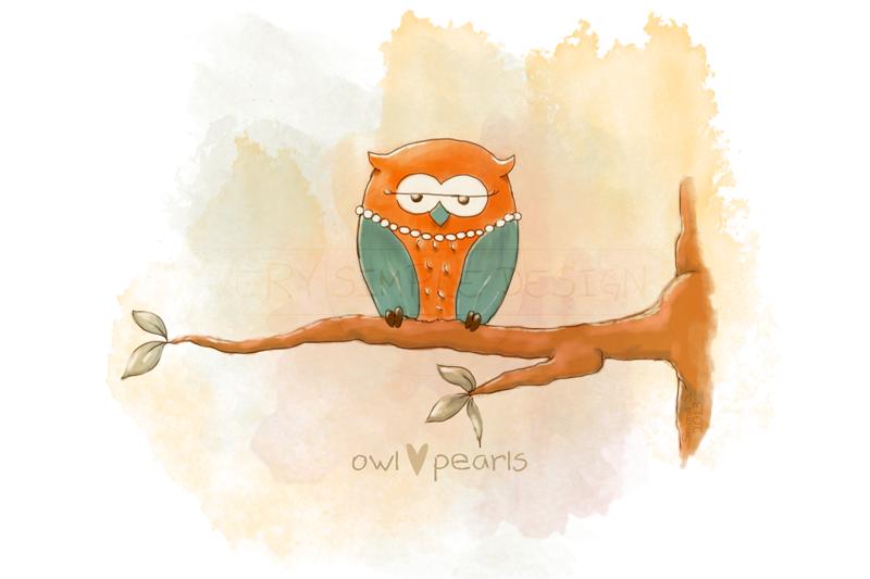 'OWL LOVES...' la mia serie di printables!