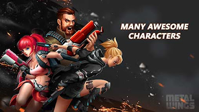 Metal Wings: Elite Force Apk + Mod Money for Android Offline