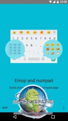Vista de la app Google Keyboard 5.1