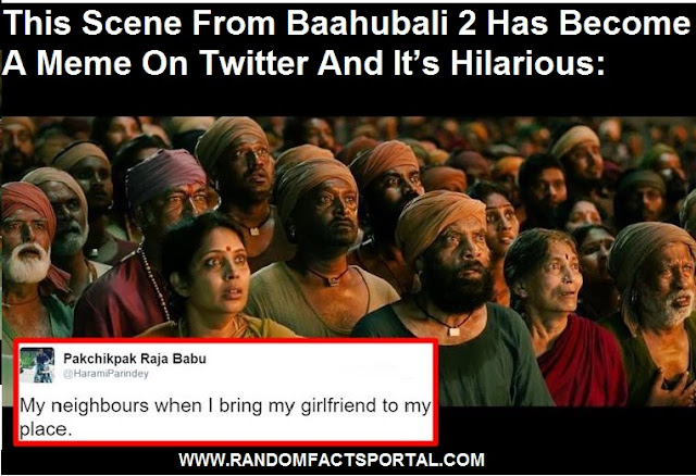 This Scene From Baahubali 2 Has Become A Meme On Twitter And It's Hilarious