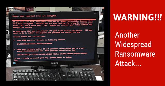 Mengenal Apa Itu Ransomeware,Cara Bekerja,Dan Pencegahannya